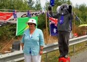 Koala with Jenny