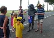 koala giving out small koala's