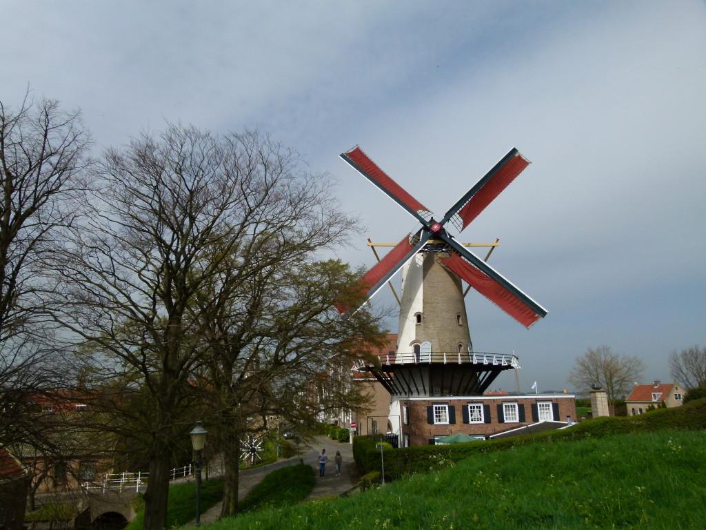 D'Orange Windmill in Willemstad.