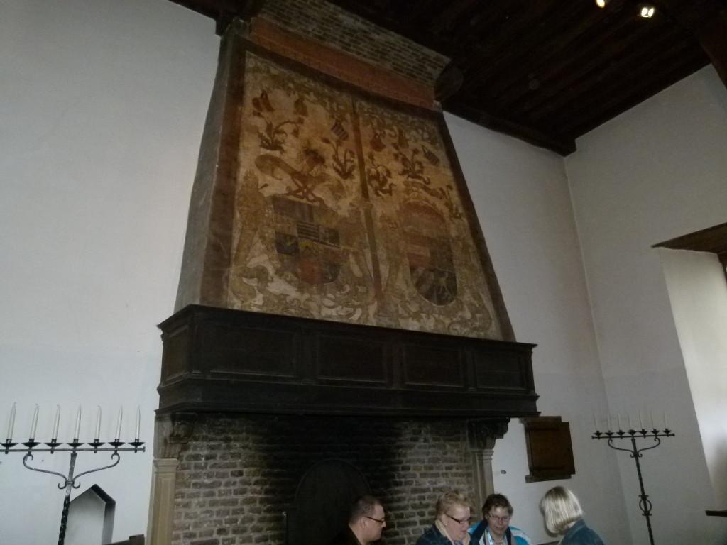 interesting chimney decoration