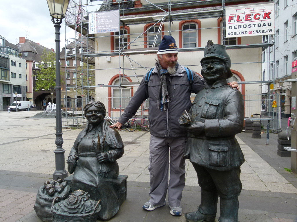Ewout and his friends, Koblenz, Germany