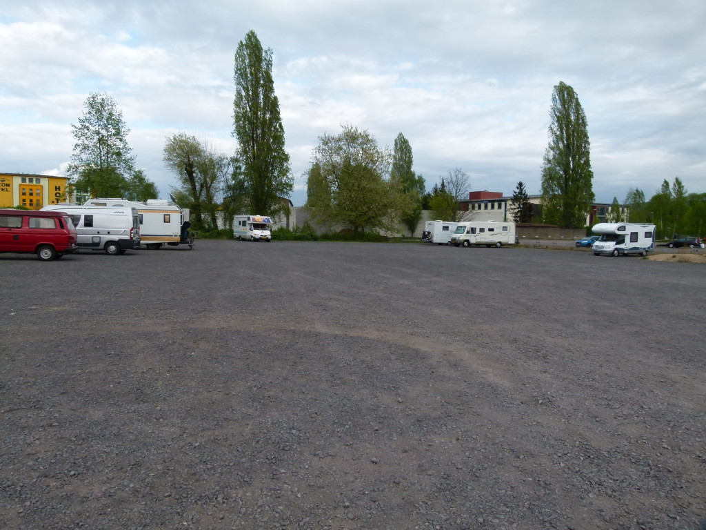 Car park for the night, at least it was quiet.