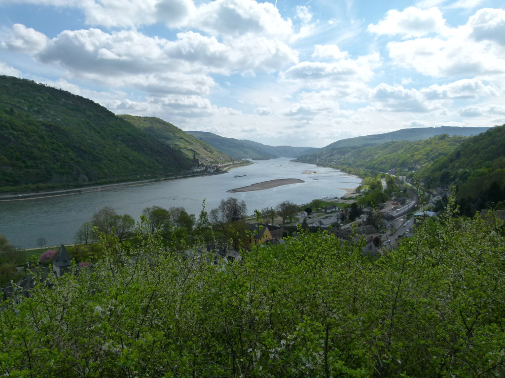 View of Rhine from Bacharach