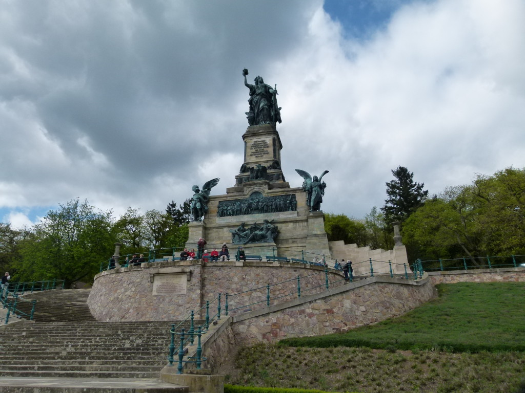 Monument for the 1st Reich at Rudesheim