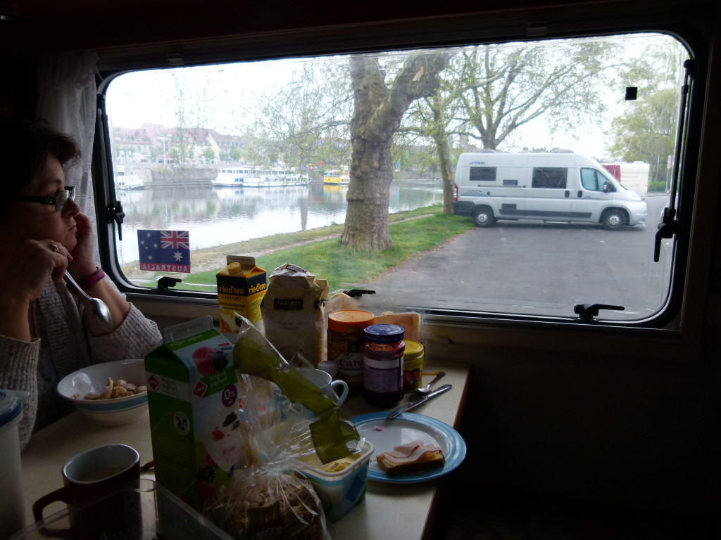 breakfast with a view, Warzburg