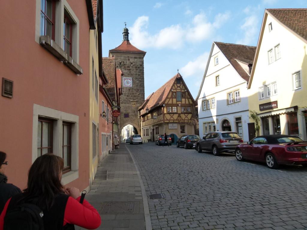 Rothenburg , main street.