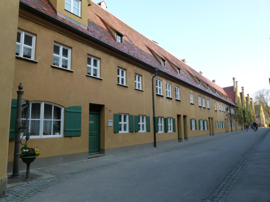 The Fuggerei, Augsberg
