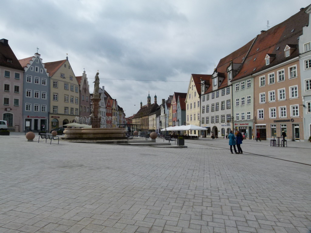 The Town Square in Landsberg