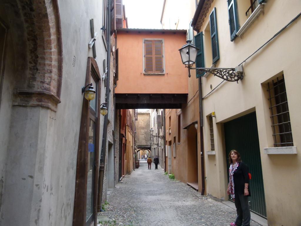 Backstreets of Ferrara.