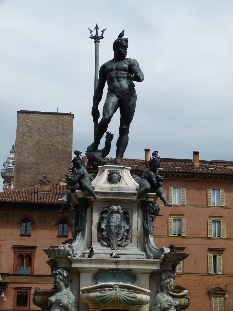 Statue of Nepture, symbol of the city.