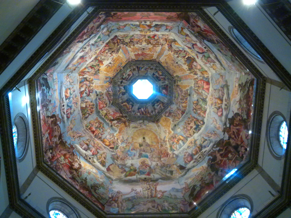 Ceiling of the Cuppola, Duomo