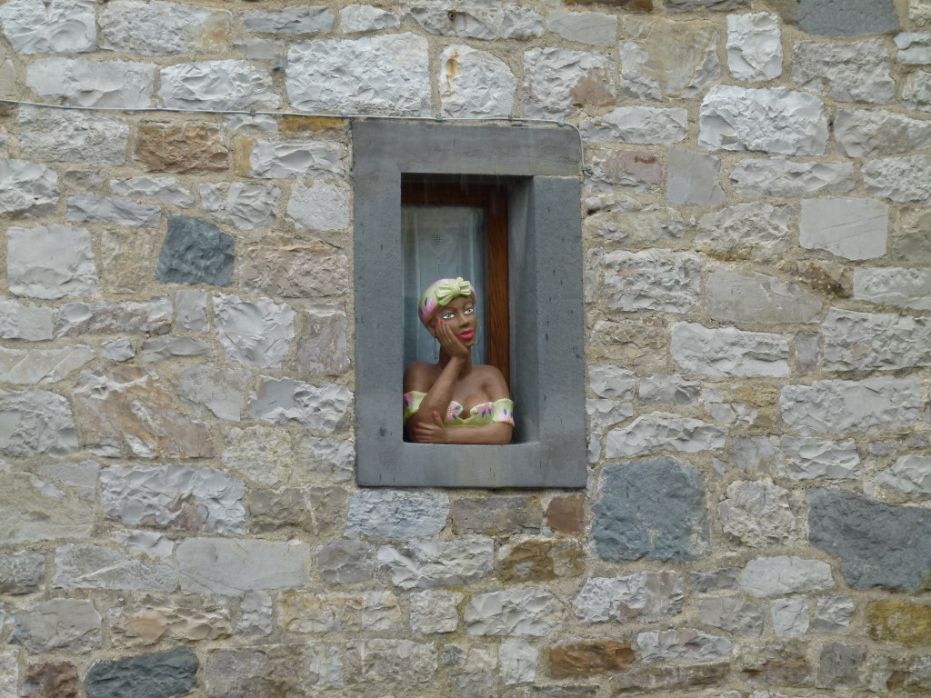 Window in Castellini in Chianti.