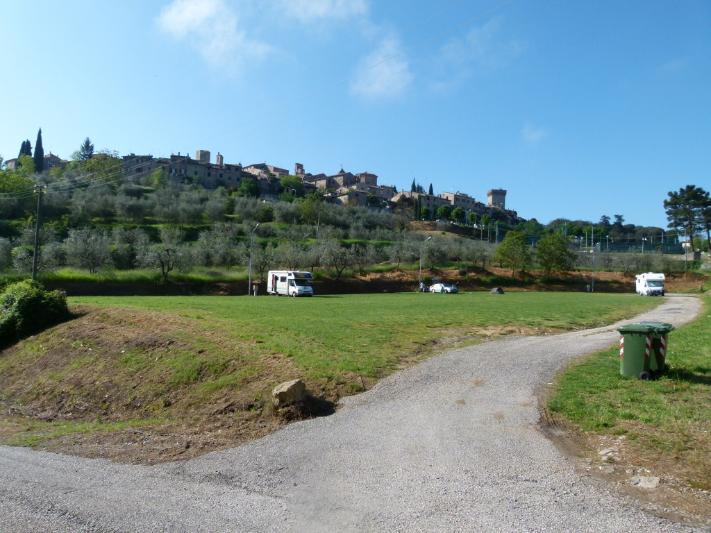 Campsite at Lucignano