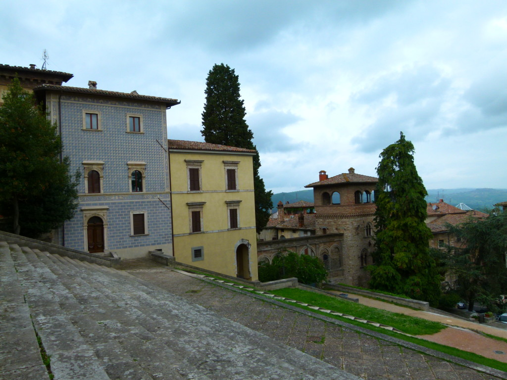 View from the church in Todi.