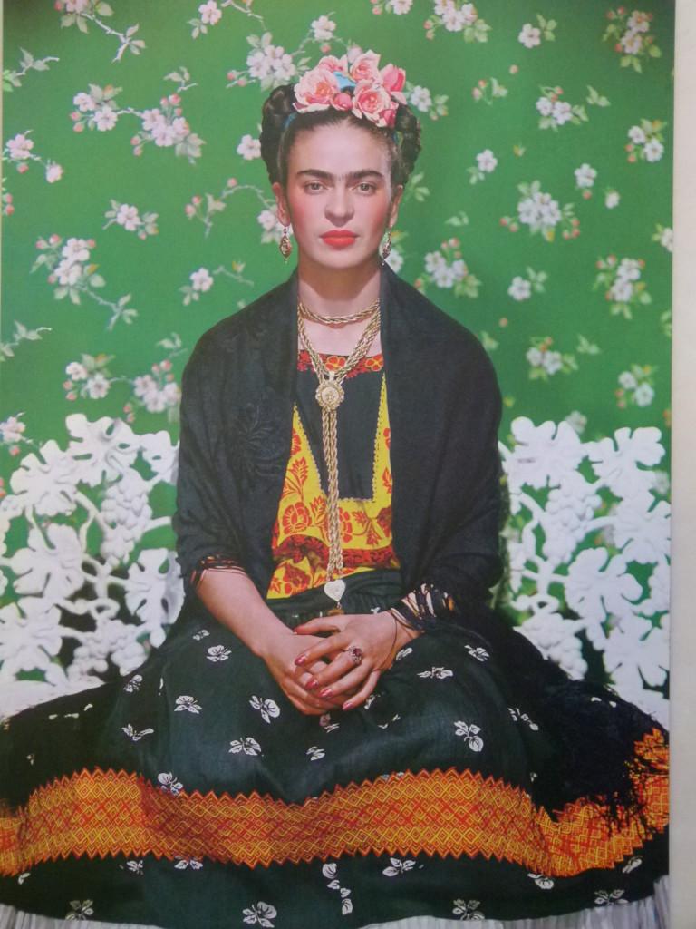 Photo of Frida Khalo.
