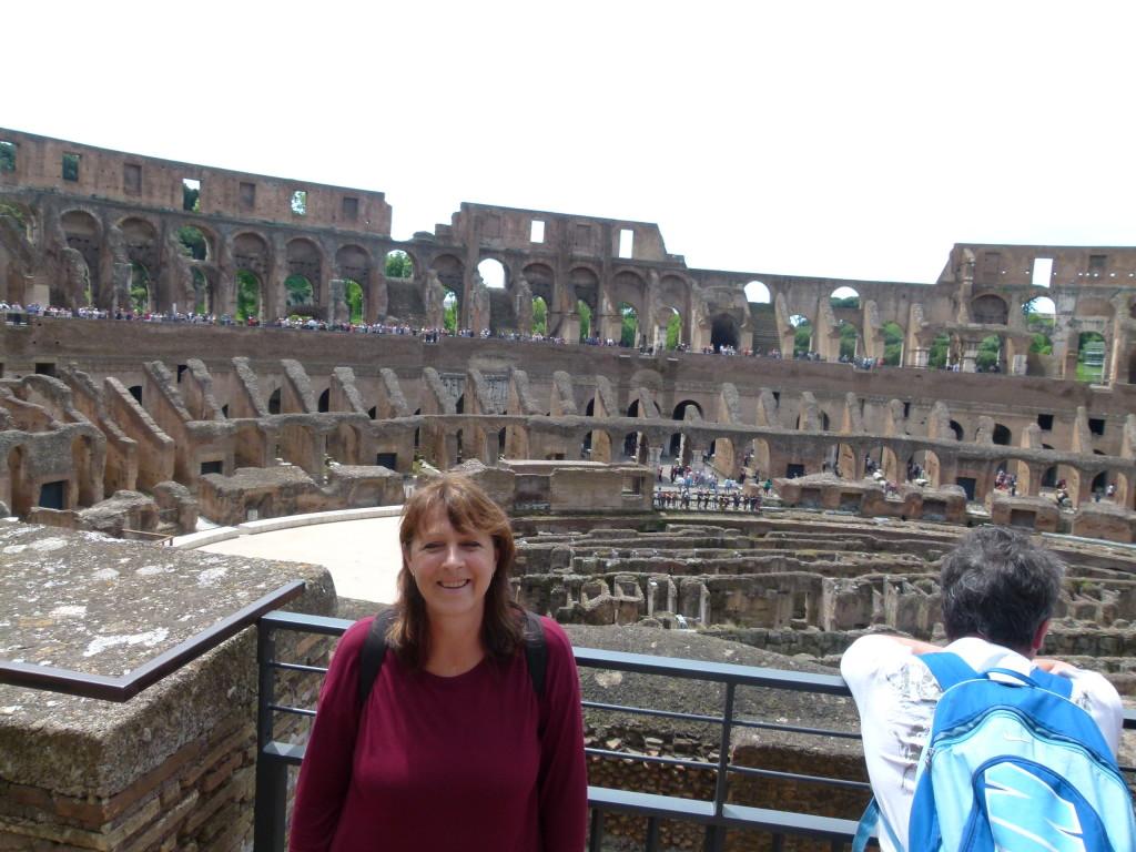 Lori in the Coloseum