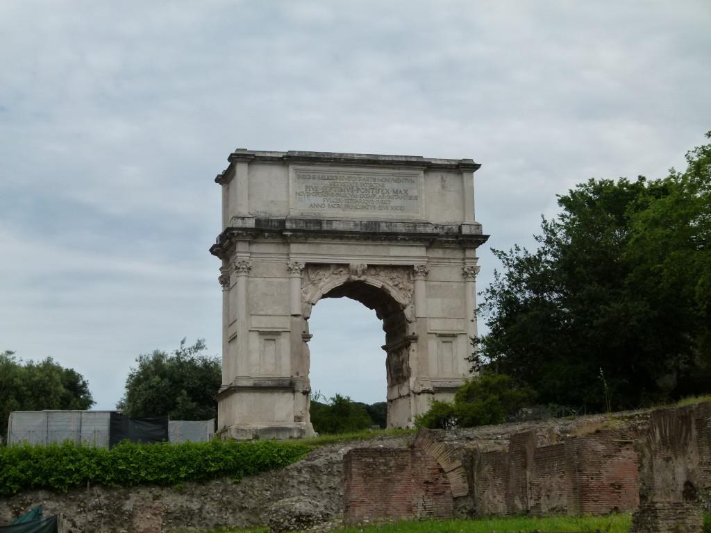 Arch of Titus, Forum Rome