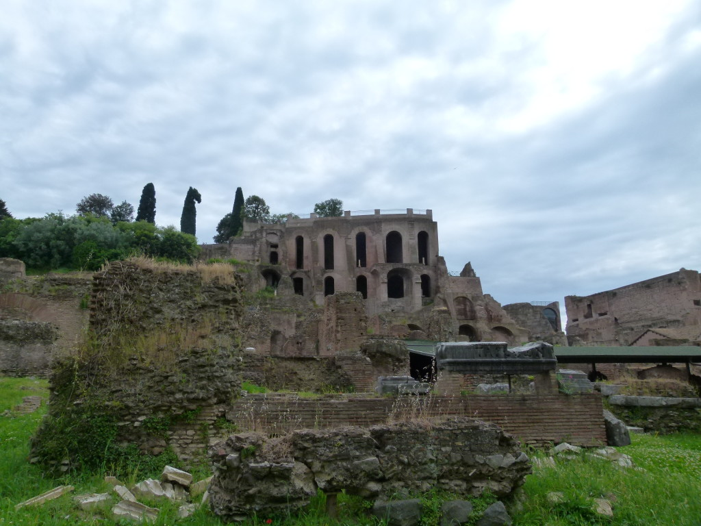 The Forum, ruins.