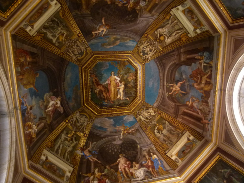 fantastical ceiling paintings everywhere.