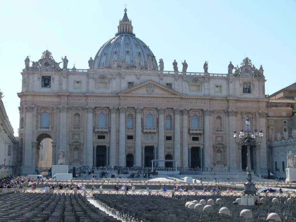 St Peters, Rome.