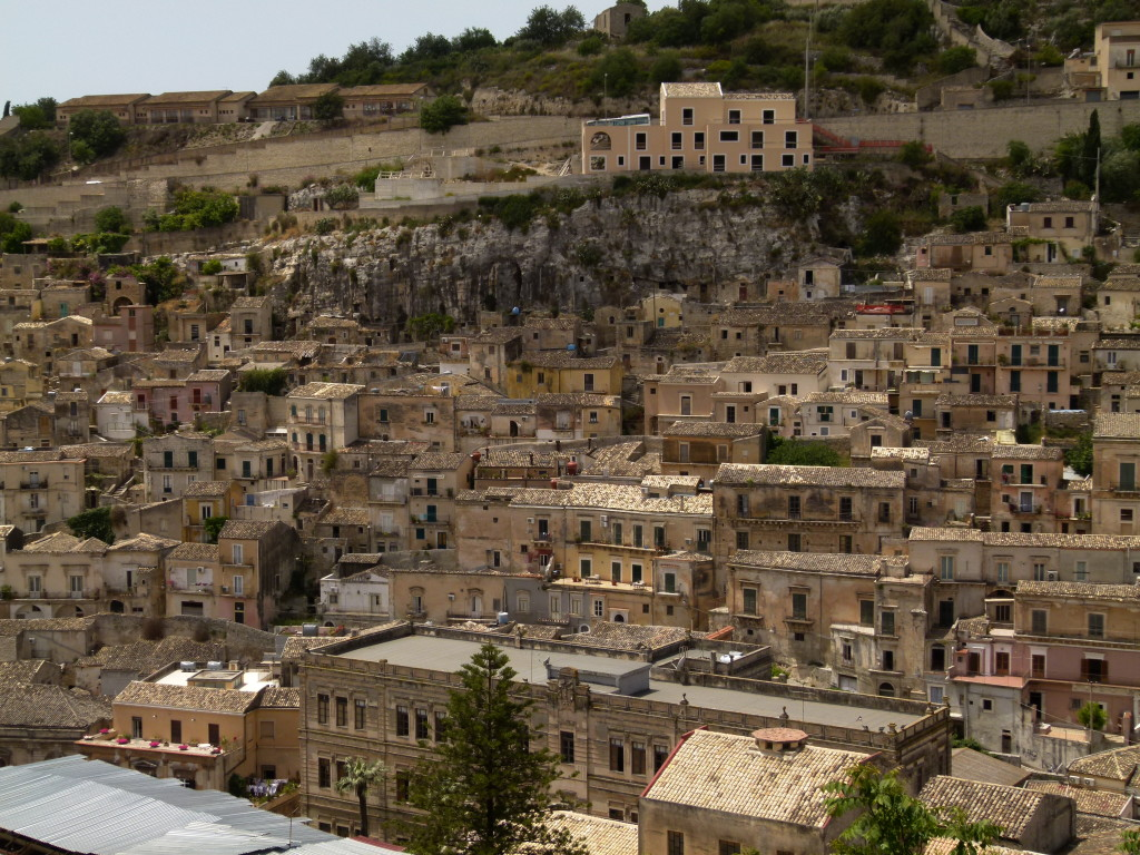 The town of Modica reminded us of Matera when we first drove down and had a look around.