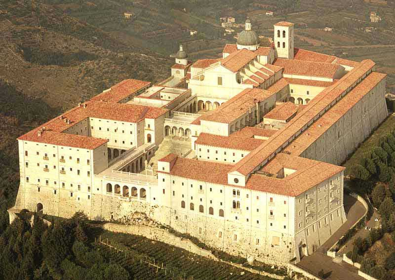The Monastery as it is today. Built using the original plans. Photo courtesy Google Images.