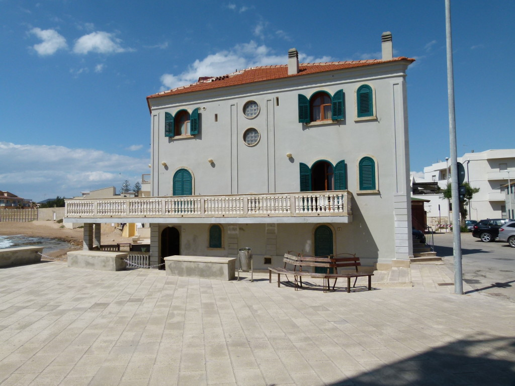 "The house where they film some of the series "" Montalbano"""