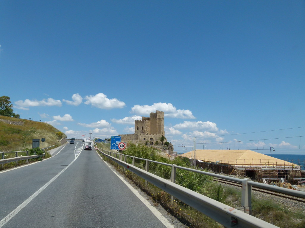 The road to Brindisi. The last road we will be following Clyde and Anna until next time.