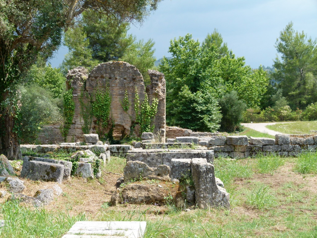 The archeological site of Olympia.
