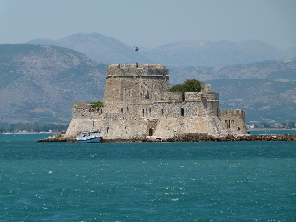 Fortress Island just of the coast of Nafploi.