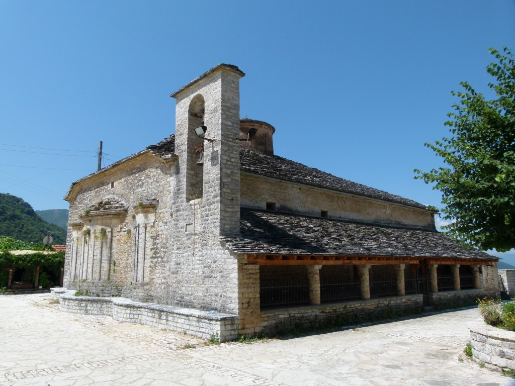 In the town center Vikos.