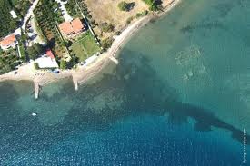 Courtesy of Google images an aerial view of the sunken city