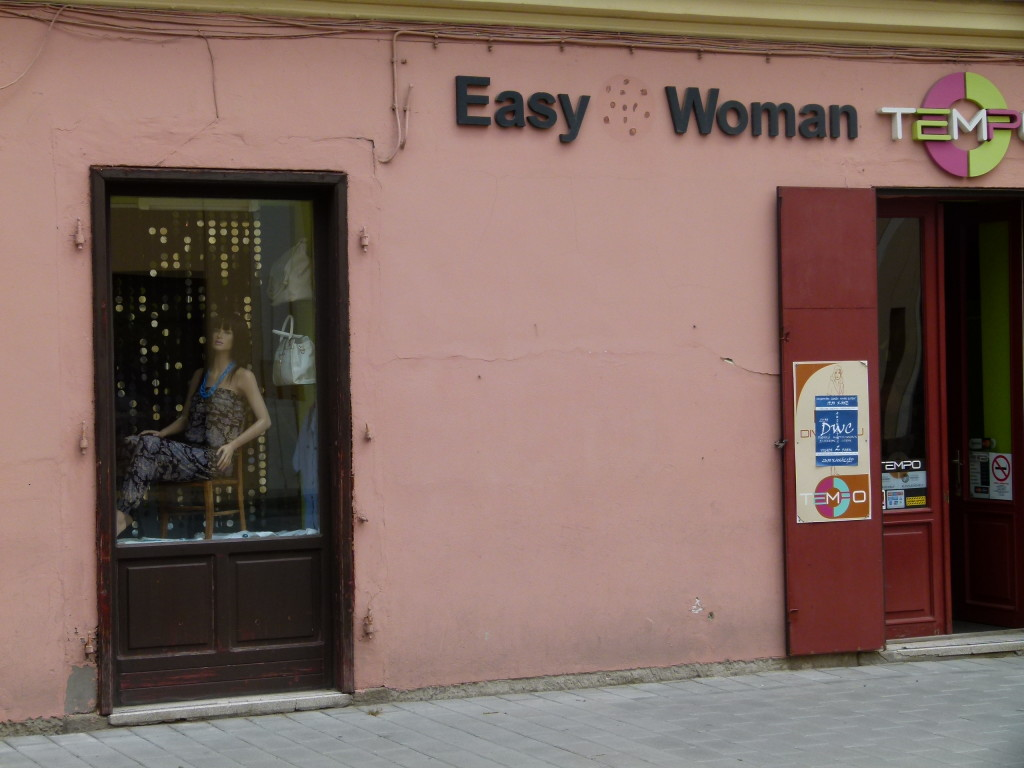 It's not what it looks like ,it is a women's clothes shop.