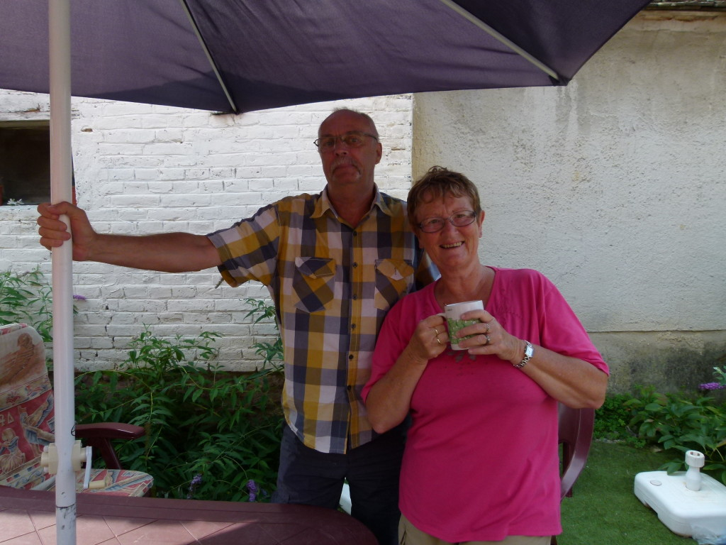 Mary and Chris. Thank you for your hospitality and friendship.