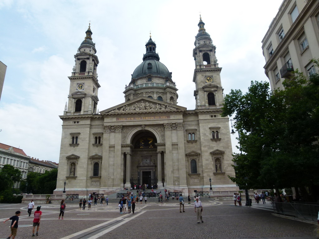 St Stephens church, Budapest
