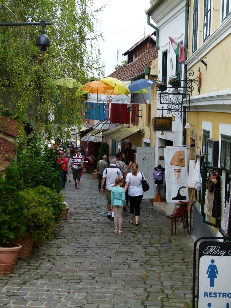 Szentendre street scape