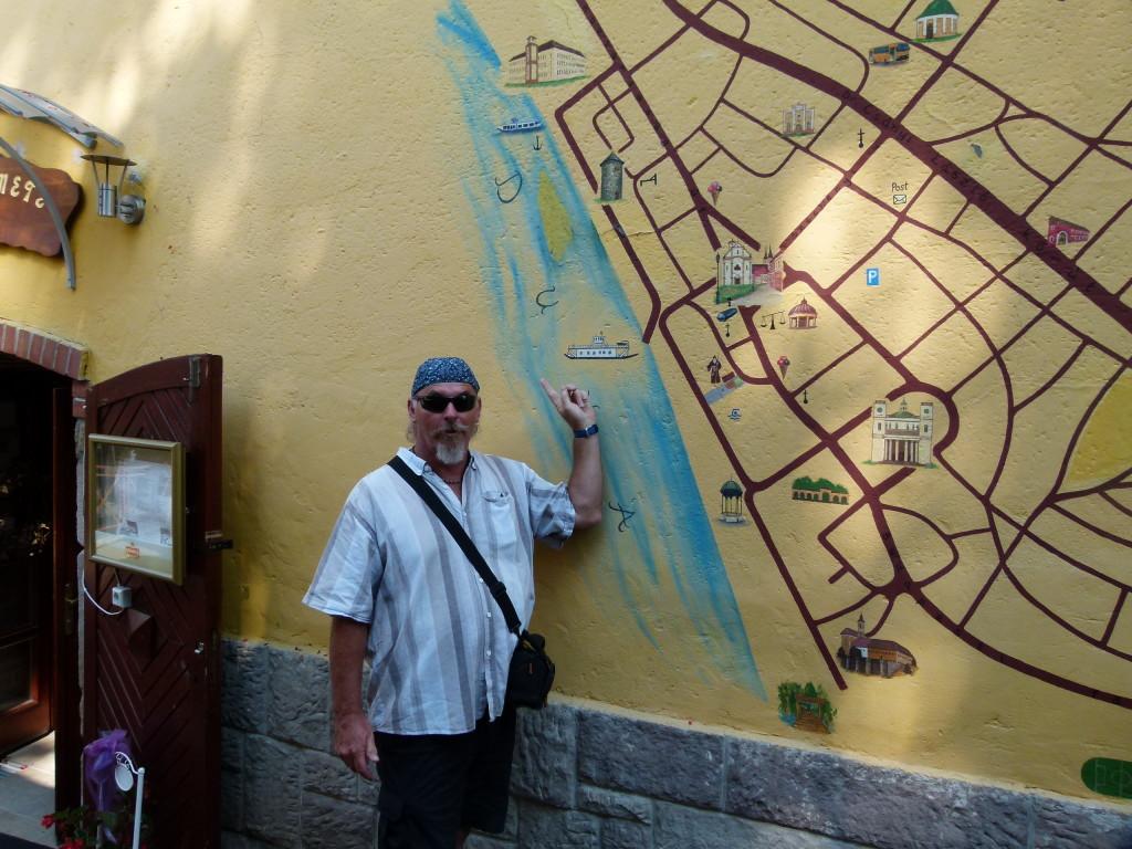 wall map of Vac