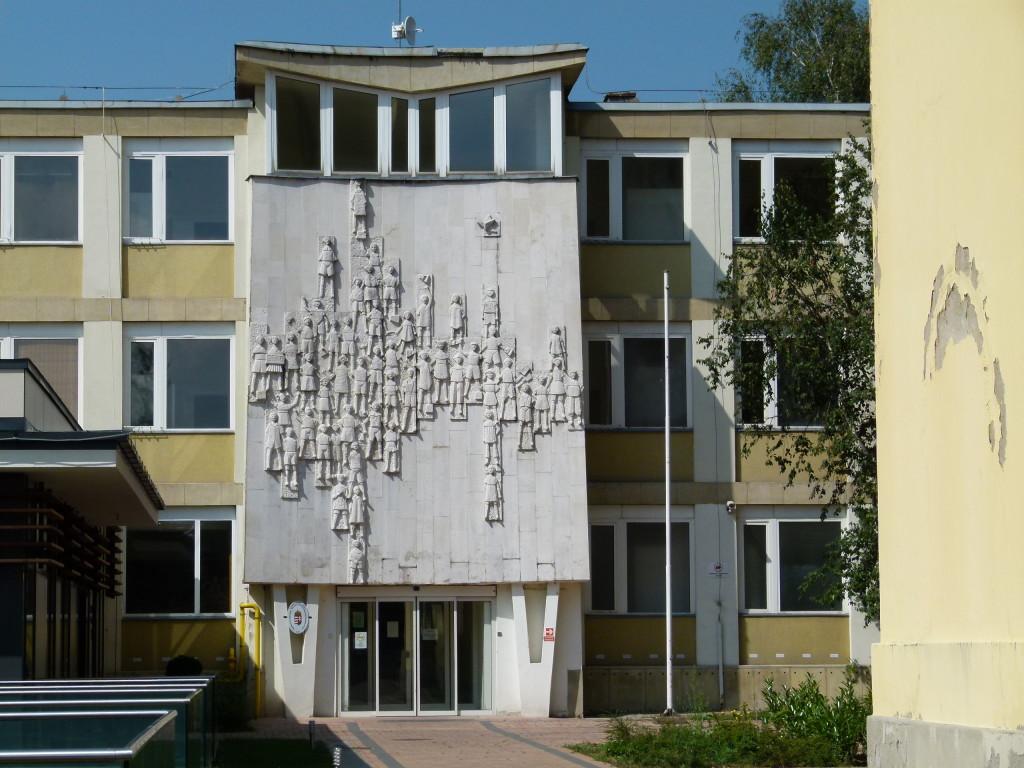 Communist era building, Eger