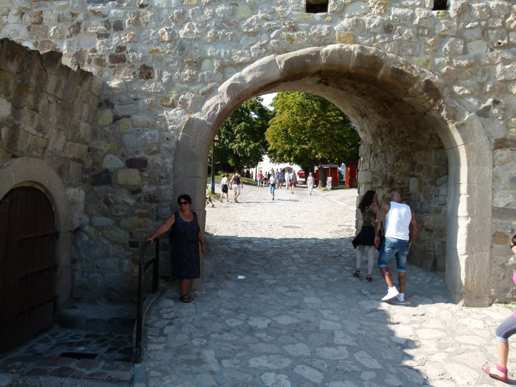 Eger Castle entrance