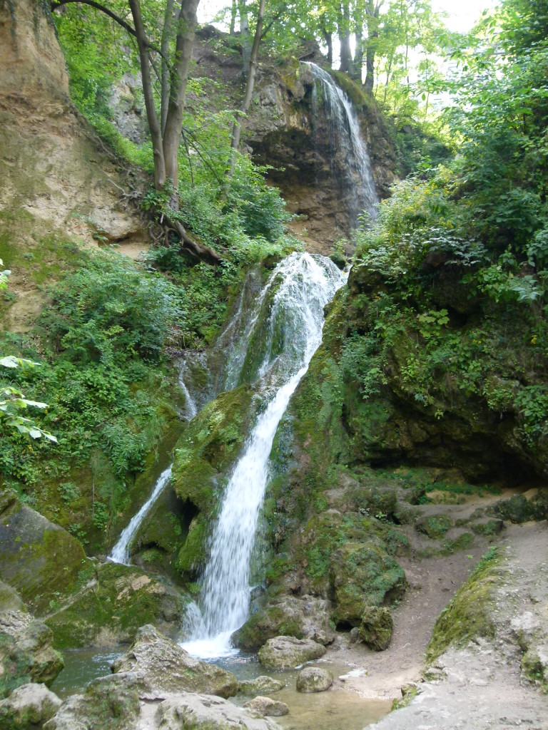 Lillafured, waterfall near to the cave entrance.