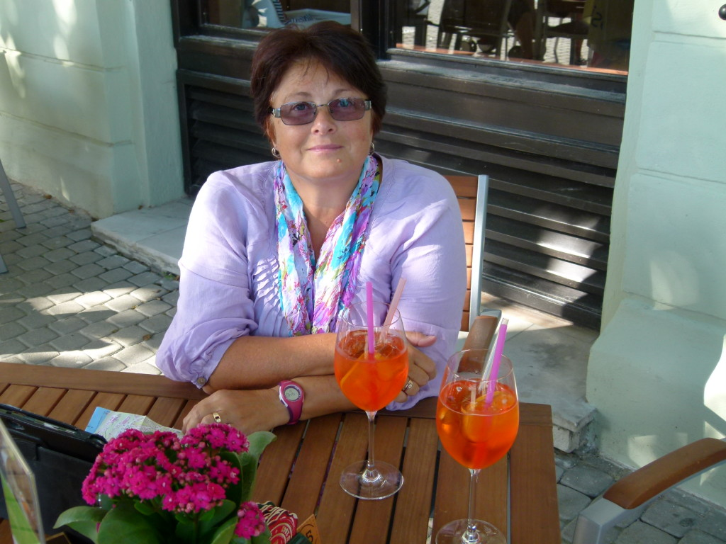 You have to love Eastern Europe. In Rome the spritz's were 8 euros, Here we had 2 for 4 euros.