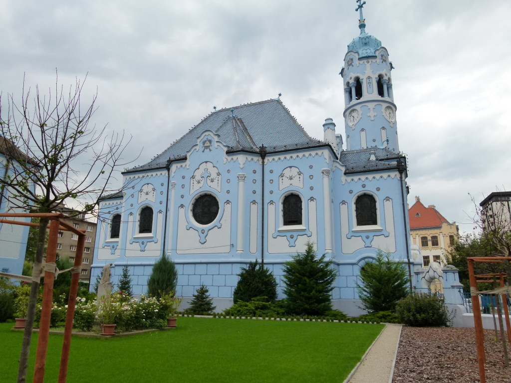It has been called other names. The Smurf Church being one of them.