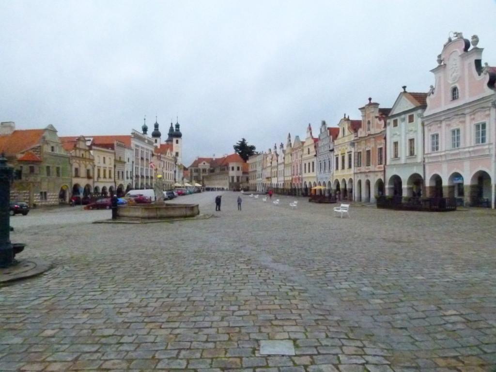 Telc, main square