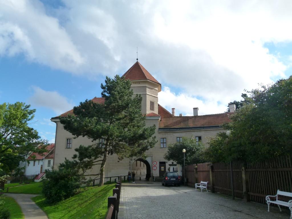 Telc, town gate