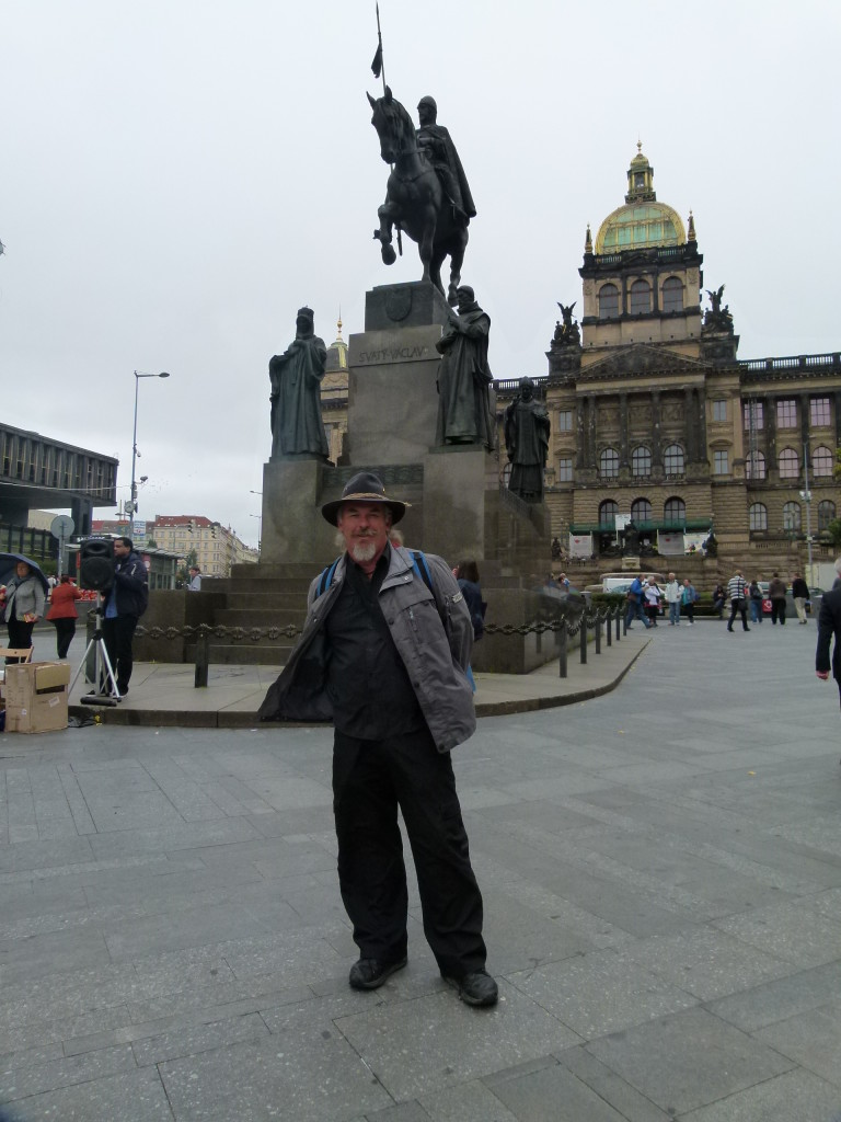 Ewout, Wenceslas square