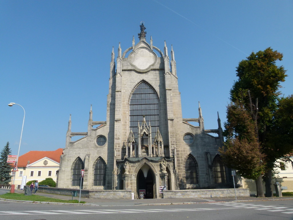 View of the outside of  The Cathedral of Assumption of Our Lady and Saint John The Baptist.