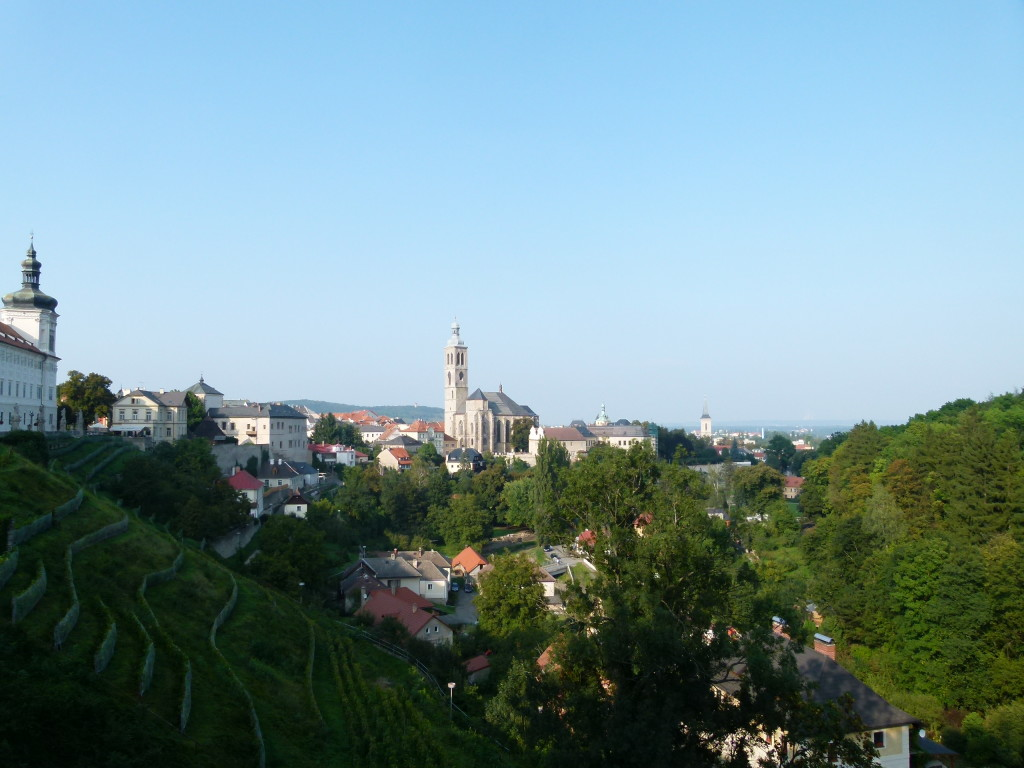 View of Kutna Hora.