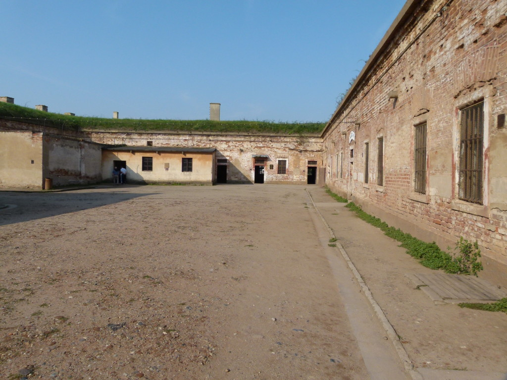 A and B blocks of the small fortress.