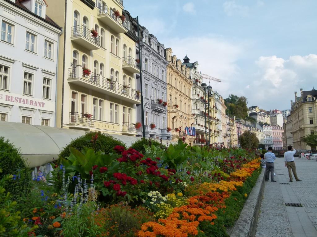 Karlovy Vary streetscape