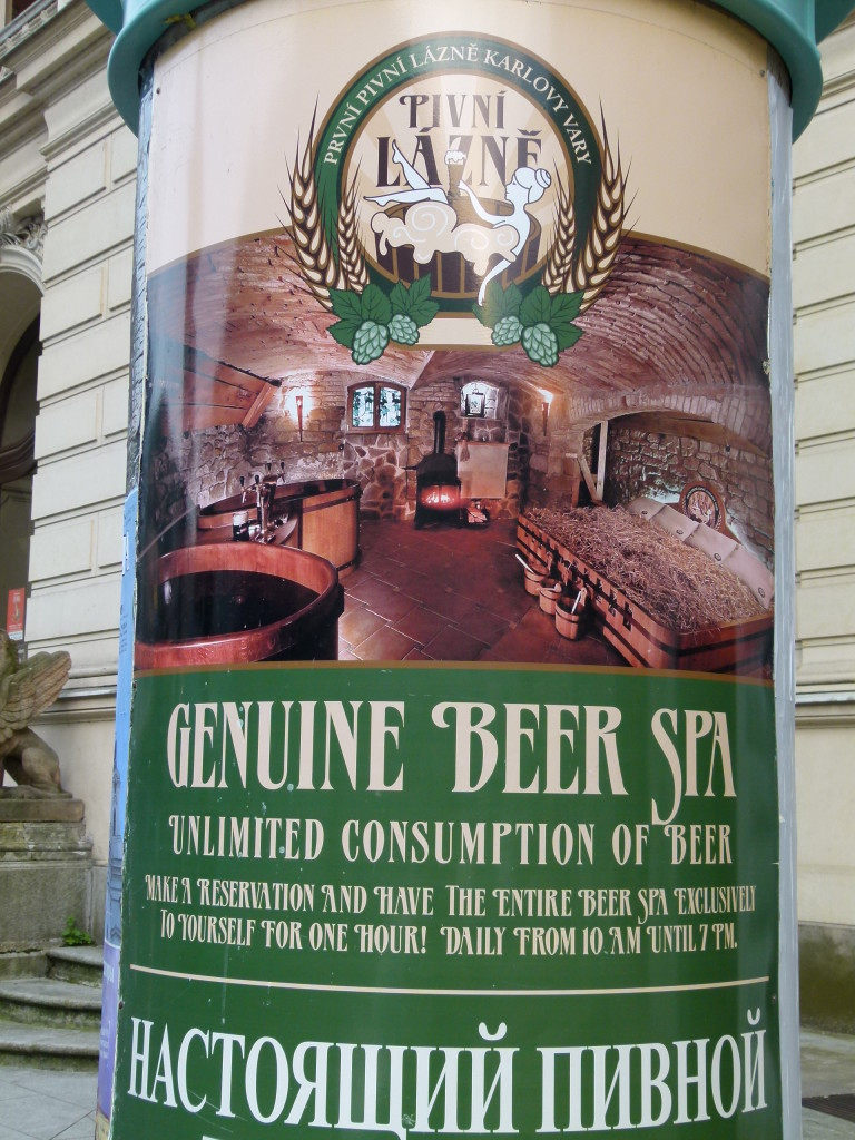 Beer spa, where you can soak in the stuff and drink as much as you like. of course not drinking the stuff you are bathing in.